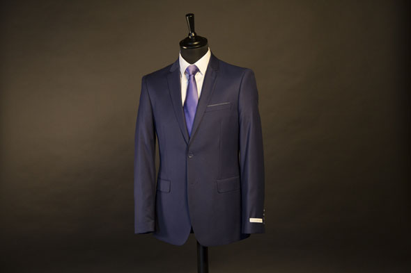 Costume Homme Sevenson Bleu royal