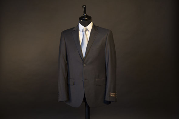 Costume Homme Podio Gris anthracite