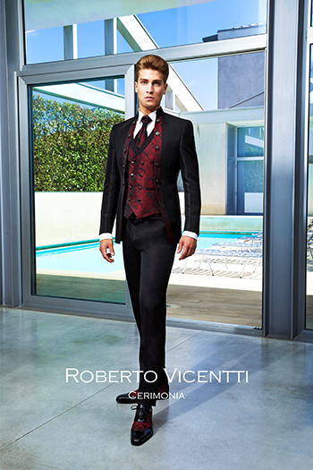 Costumes Homme Mariage Roberto Vicentti