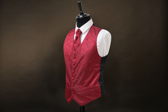 Gilet Occhiello Rouge Tribal C50124